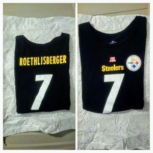 Big Ben🏈🏈& Steelers t shirt NFL Ladies